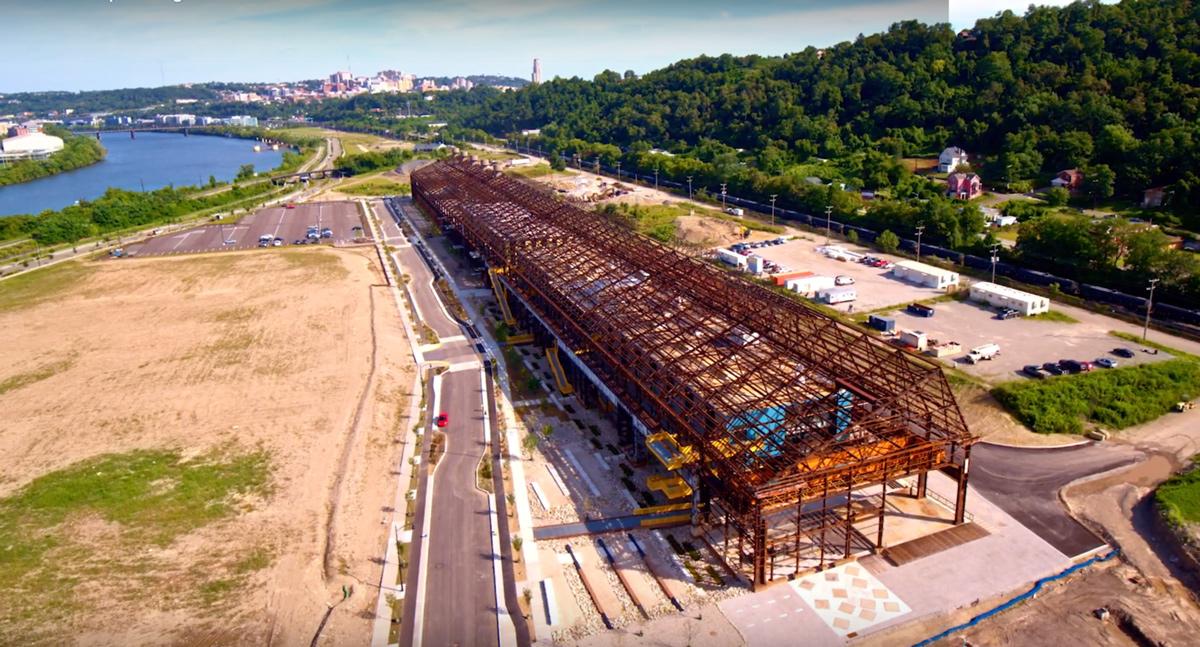 Hazelwood Green Pittsburg Pennsylvania construction